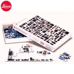 Leica Jigsaw Puzzle 100 Years. An entire century of Leica history in a single picture.