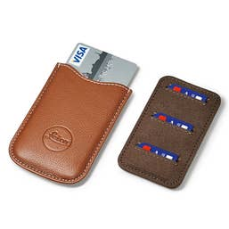 Leica SD and Credit Card Holder in Cognac  -  18539
