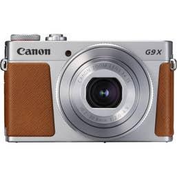 Canon PowerShot G9X Mark II Digital Camera (Silver)