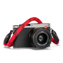 Leica Rope Strap - Fire - 100cm length - Metal O-Ring Connector - designed by COOPH