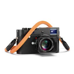 Leica Rope Strap – Glowing Red 126cm length - Metal O-Ring Connector - designed by COOPH