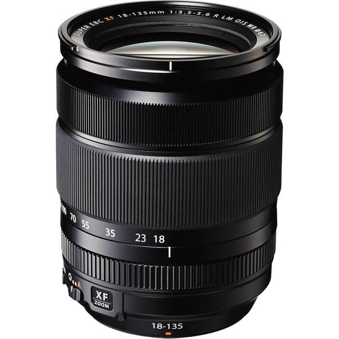 Fujifilm - XF 18-135mm Zoom f/3.5-5.6 R OIS WR Lens