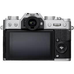 Fujifilm X-T20 Mirrorless Digital Camera (Body Only, Silver)