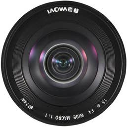 Laowa Venus Optics 15mm f/4 Macro 1:1 Lens for Sony A