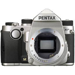 Pentax K-P Digital SLR Camera Body - Silver