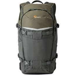 Lowepro Flipside Trek 350 AW BackPack (Grey/Dark Green)