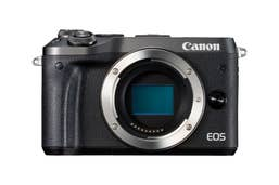 Canon EOS M6 Mirrorless Camera Body - Black  -  M6BB