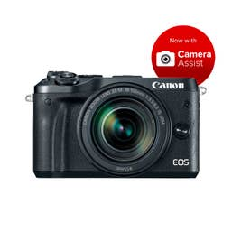 Canon EOS M6 Mirrorless Camera Body with 18-150mm lens - Black