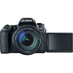 Canon EOS 77D Body with EF-S 18-135mm f/3.5-5.6 IS USM Lens