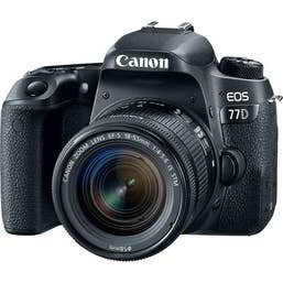 Canon EOS 77D Body with EF-S 18-55mm f/4-5.6 IS STM