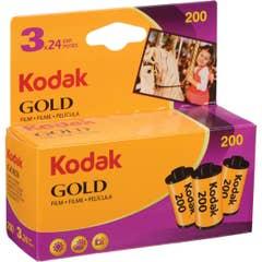 Kodak Gold 200 35mm 24exp 3 Pack