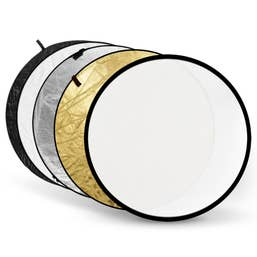 Xlite 105cm 5 in 1 Reflector Set (White/Black/Silver/Gold/Translucent)