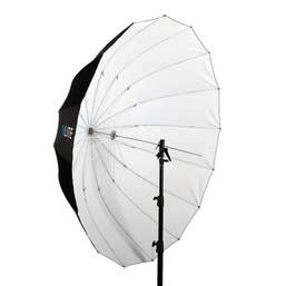 Xlite Deep Parabolic Black White Umbrella 165cm
