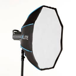 Xlite 70cm Beauty Dish Softbox + Grid & Deflector Fits Elinchrom