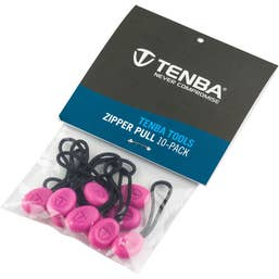 Tenba Tools Zipper Pulls - Pack of 10 (Pink)