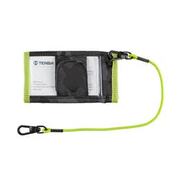 Tenba Tools Reload SD6 + CF6 Card Wallet - Black Camouflage/Lime