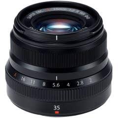 Fujifilm Fujinon XF 35mm f/2 R WR Lens (Black)