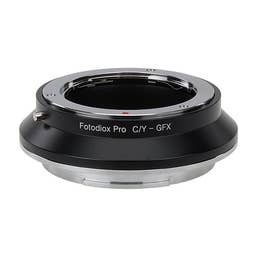 FotodioX Pro Lens Mount Adapter, Contax/Yashica SLR to Fujifilm G-Mount