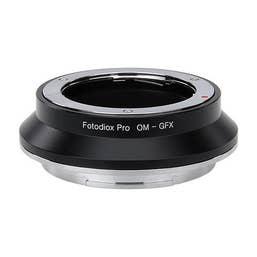 "FotodioX Pro Lens Mount Adapter, Olympus Zuiko to Fujifilm G-Mount"""