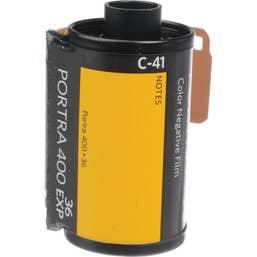 Kodak Professional Portra 400 Color Negative Film (35mm Roll Film, 36 Exposures)