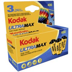 Kodak GC/UltraMax 400 Color Negative Film (35mm Roll Film, 24 Exposures, 3 Pack)