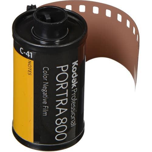 Kodak Professional Portra 800 Color Negative Film (35mm Roll Film, 36 Exposures)