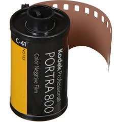 Kodak Professional Portra 800 Color Negative Film (35mm Roll Film, 36 Exposures)