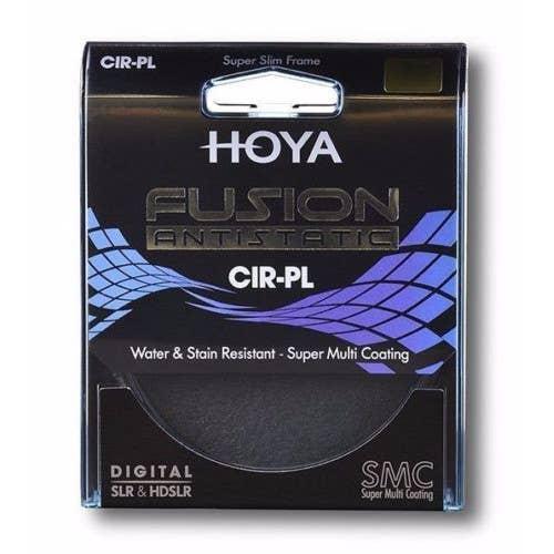 Hoya 62mm Fusion Antistatic Circular Polariser Filter