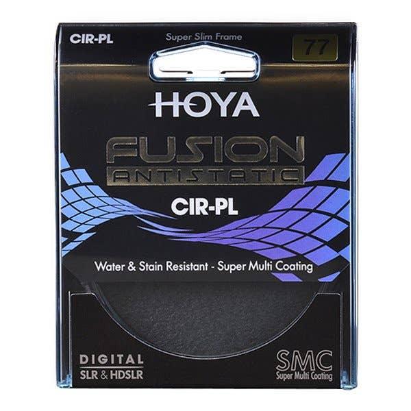 Hoya 77mm Fusion Antistatic Circular Polariser Filter