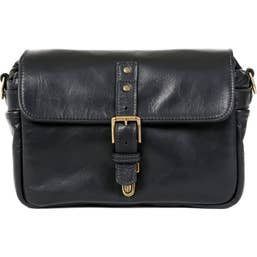 ONA Bowery Camera Bag - Italian Leather - Black