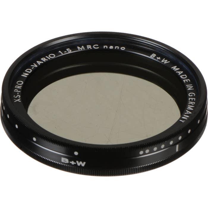 B+W XS-Pro 77mm ND Vario Filter
