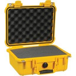 Pelican 1400 Case with Foam  Yellow   (1400Y)