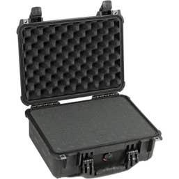 Pelican 1450 Case with Foam - Black    (1450B)