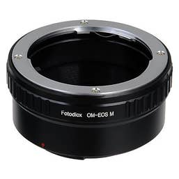 Fotodiox Lens Mount Adapter Olympus OM to Canon EOS-M (EF-M) Mirrorless Camera