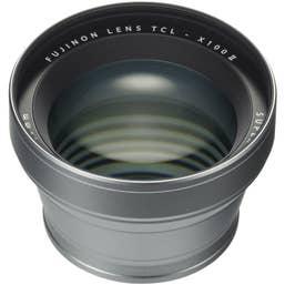 Fujifilm TCL-X100 II Tele Conversion Lens (Silver)