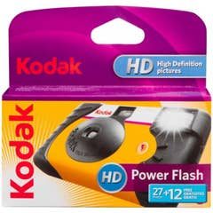 Kodak Power Flash Single Use Camera 27 + 12 Exposures