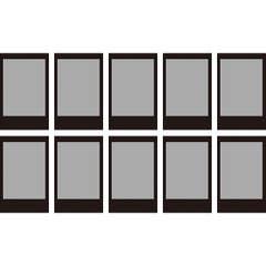 Fujifilm Instax Mini 10pcs Film - Black Frame