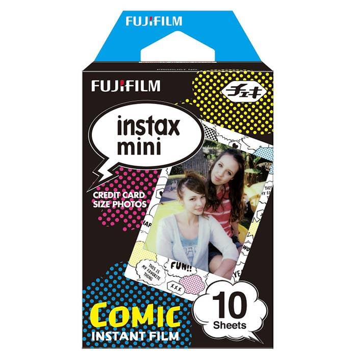 Fujifilm Instax Mini 10pcs Film - Comic Frame