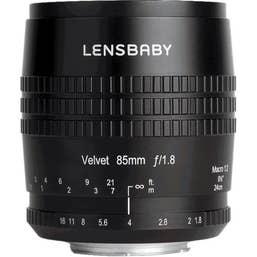 Lensbaby Velvet 85mm f/1.8 Lens for Pentax