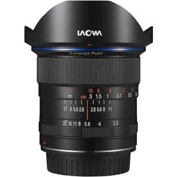 Laowa 12mm f/2.8 Zero-Distortion Lens for Sony E