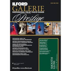 """ILFORD Galerie Smooth Gloss 100 Sheets 310GSM 12.7 x 17.8cm (5""""x7"""")"""