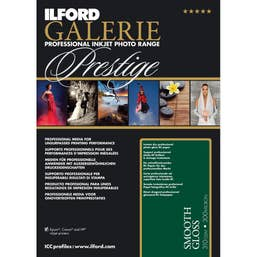 Ilford Galerie Prestige Smooth Gloss Paper (5x7 inch - 100 Sheets)