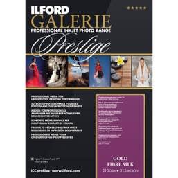 Ilford Galerie Prestige Gold Fibre Silk Paper (8.5 x 11 inch, 25 Sheets)