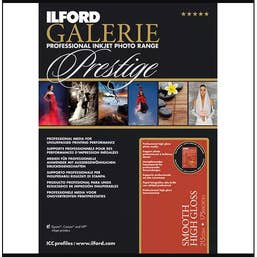 Ilford GALERIE Prestige Smooth High Gloss, A4 (21 x 29.7cm), 25 Sheets