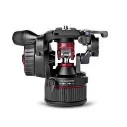 Manfrotto Nitrotech N8 Video Fluid Head - 8kg Continuous Counterbalance
