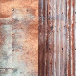 Lastolite Collapsible Background 1.5 x 2.1m - Urban Corrugated / Metal