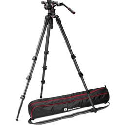 Manfrotto Nitrotech N12 & 536 Carbon Fiber Single Legs Tripod System