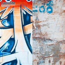 Lastolite Collapsible Background 1.5 x 2.1m - Urban Distressed Paper / Graffiti