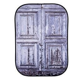 Lastolite Collapsible Background 1.5 x 2.1m - Urban Shutter / Distressed Door