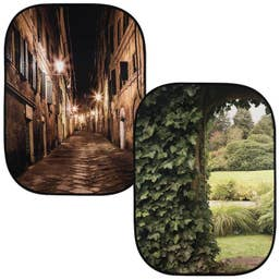 Lastolite Collapsible Background 1.5 x 2.1m - Evening Street / Ivy Archway